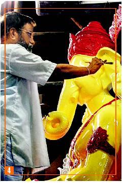 Ratnakar Kamblee - maker of Lalbaghcha Raja. Enough said.